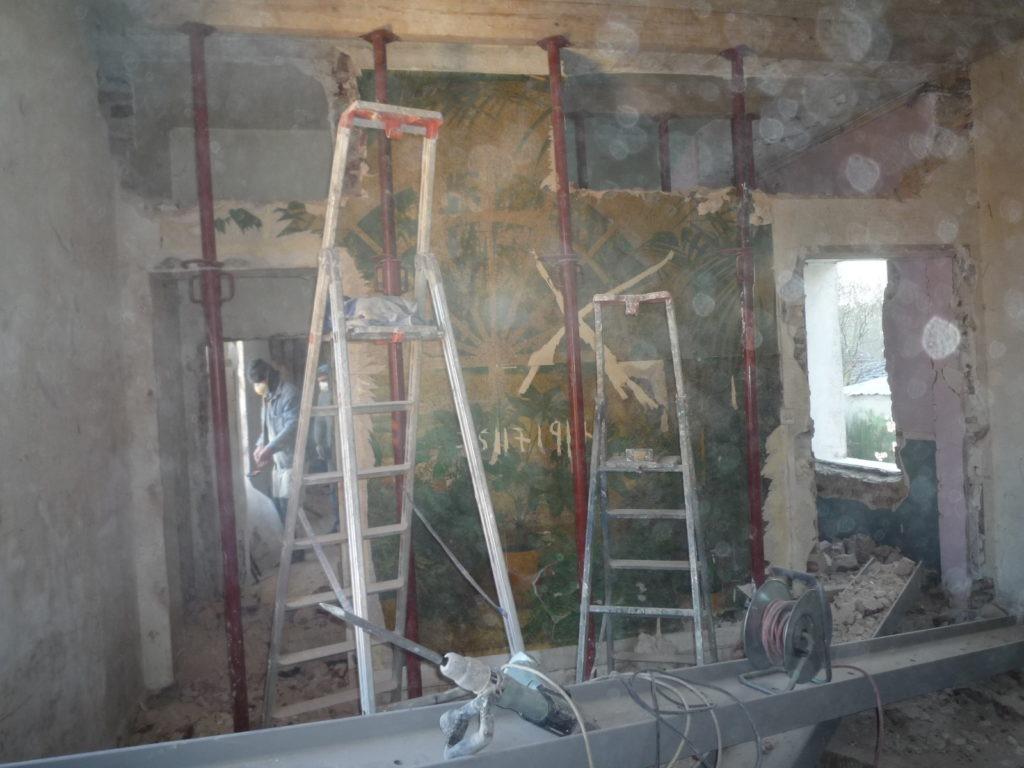 Maçonnerie: Ouverture mur porteur et etaiement à Villejuif 94800