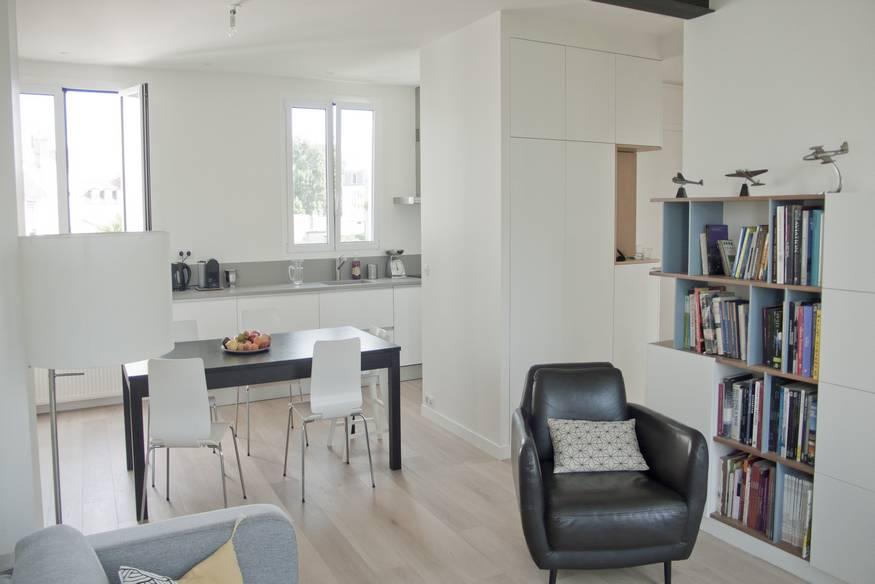 Aménagement d'un appartement moderne à Paris