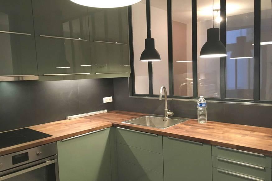 Rénovation d'une cuisine moderne à Paris