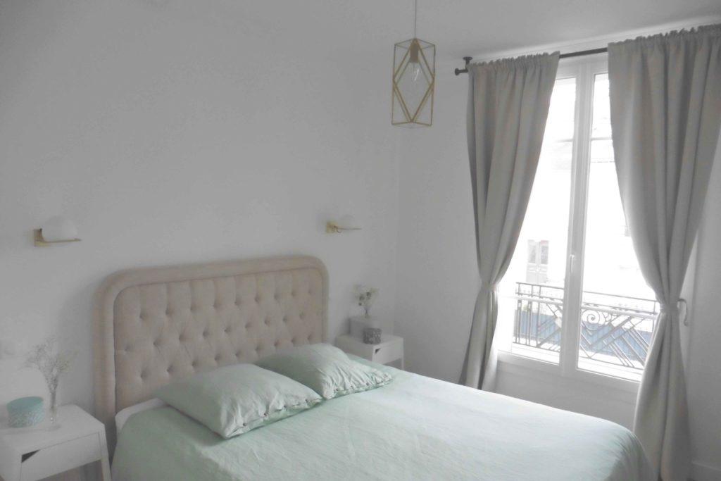 Rénovation d'une chambre dans un appartement Parisien