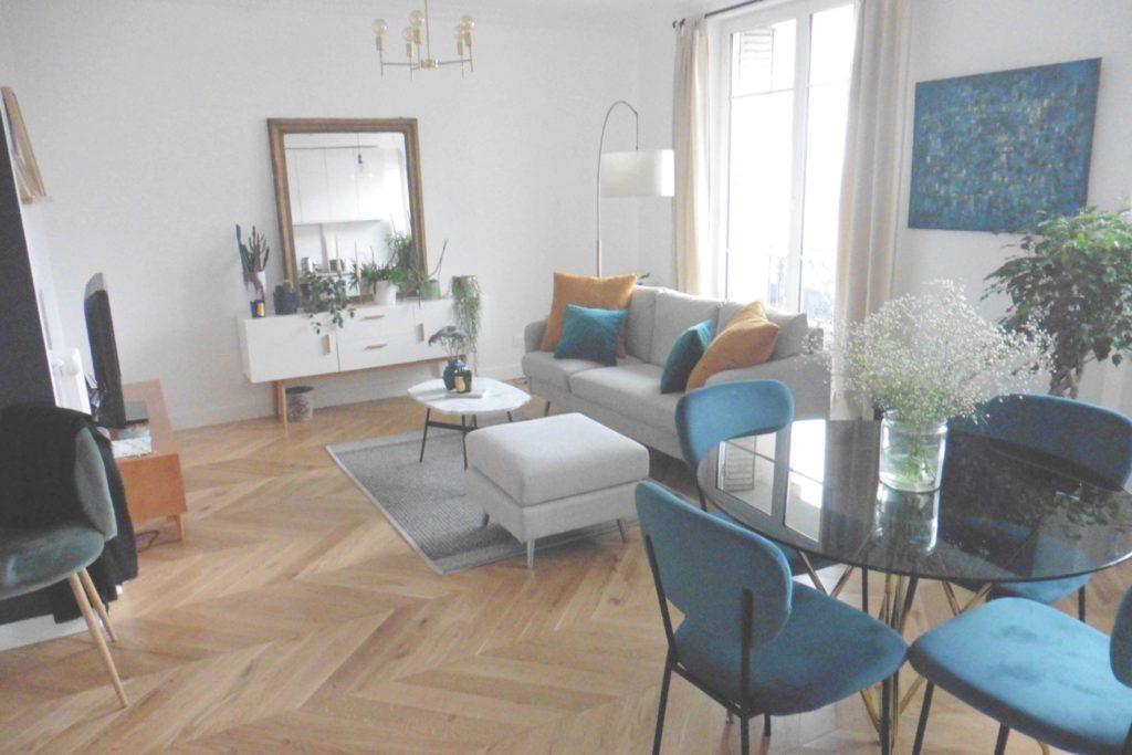 Rénovation d'un séjour Haussmannien à Paris